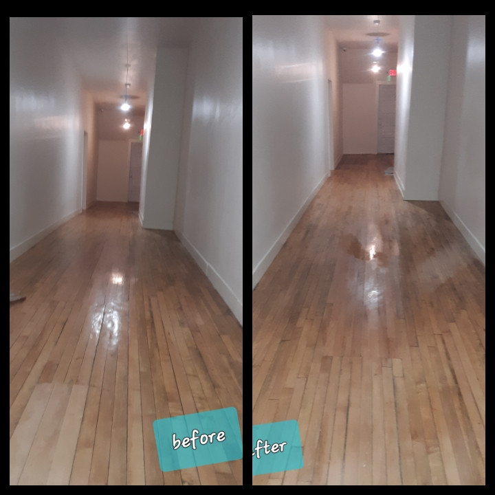 Property common hallway & stairway cleaning service's