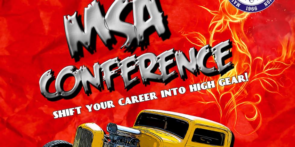 51st MSA Conference