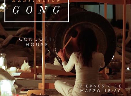 Práctica de Meditación con Gongs