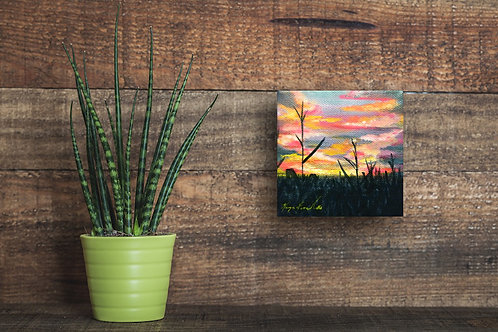 Indiana Sunset Painting