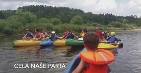 Pěstounské rodiny Kraje Vysočina   Vodácká soustředění Polsko a Vltava 2019