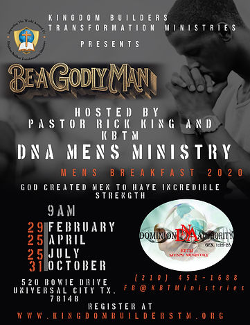 KBTM Mens DNA Breakfast 2020