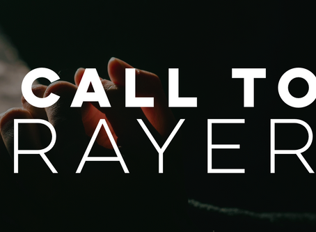 New! Prayer Conference Call