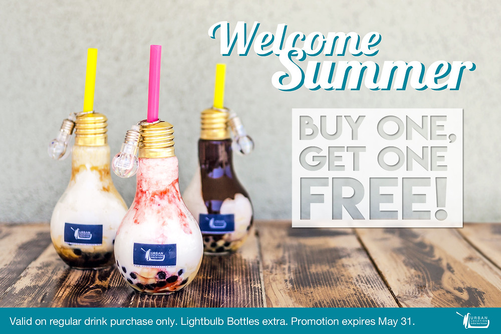 Welcome Summer Promotion at Urban Location