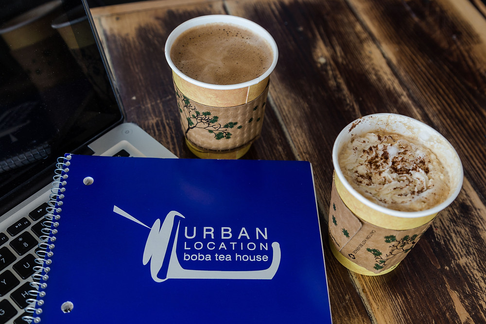 Grab a Cup of Coffee at Urban Location