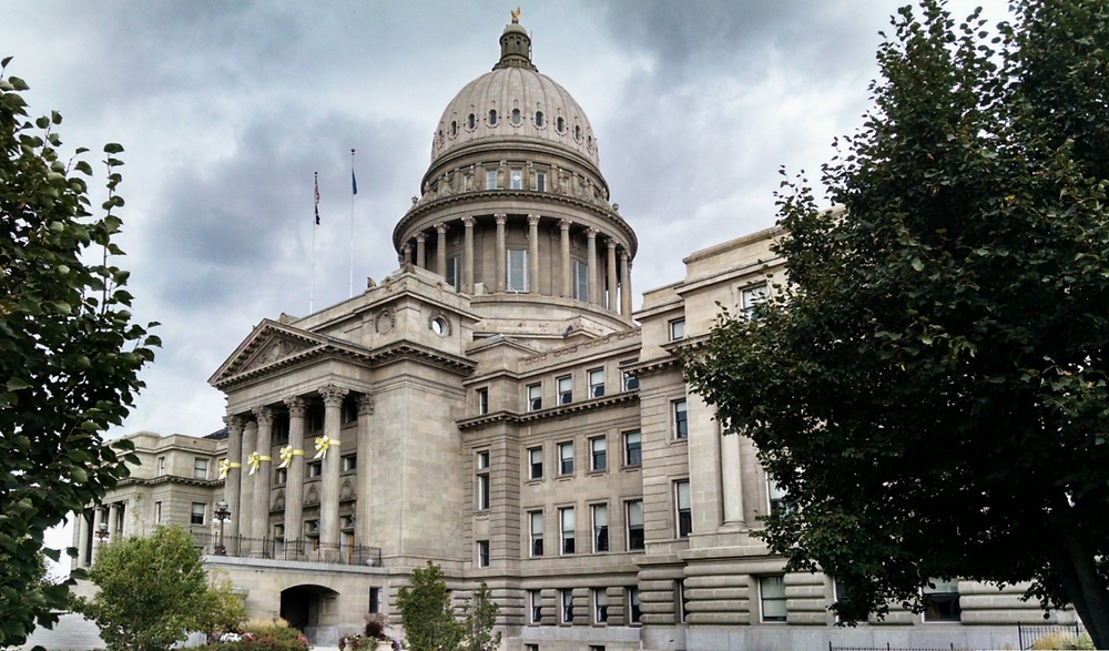 The Idaho State Capitol