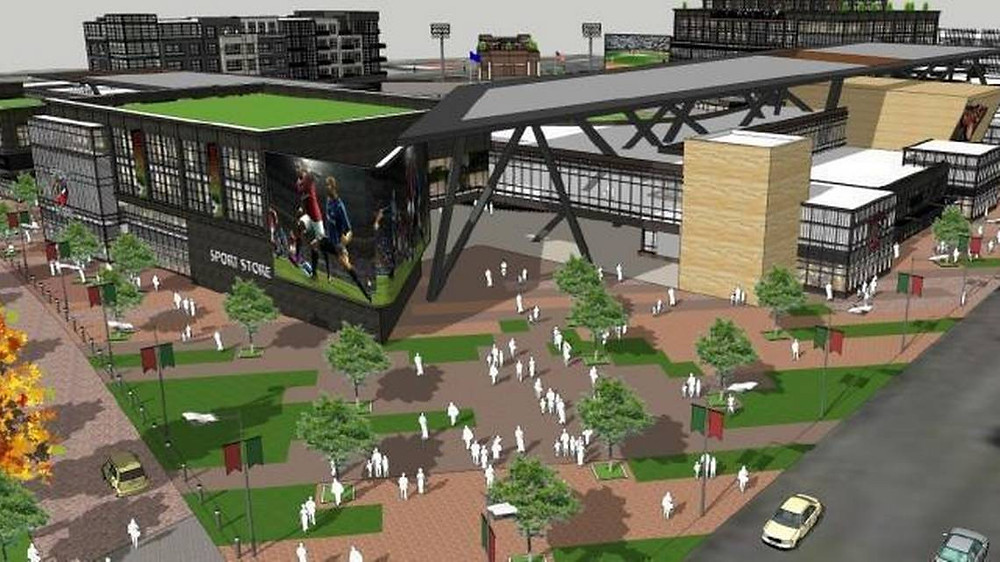 Proposed Boise Baseball Stadium