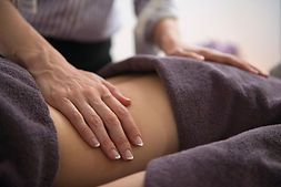 Esoteric Massage with client