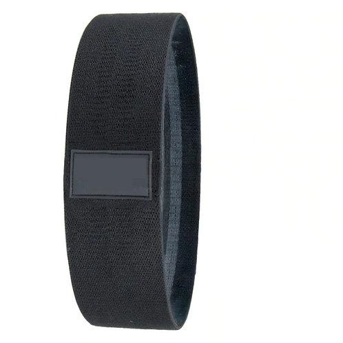 Single Black Fabric Loop Resistance Band