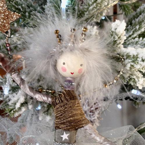 Christmas Sprite Tree Topper ~Winter Glow Sprite