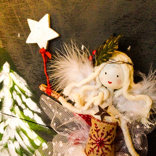 Nordic style handcrafted fairy