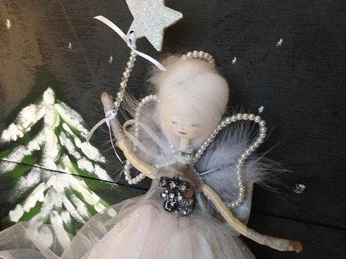 Vintage style fairy