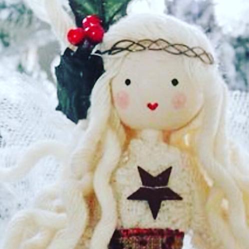 Nordic Style Christmas Fairy