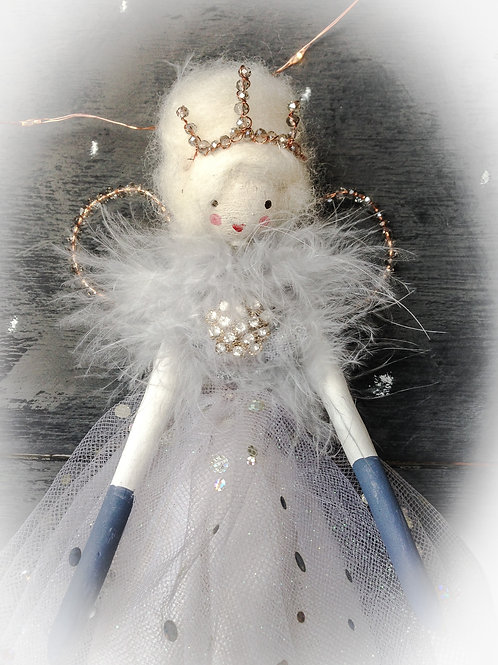 Vintage style hand crafted fairy