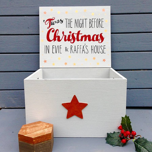 Christmas Eve Family Size Chest