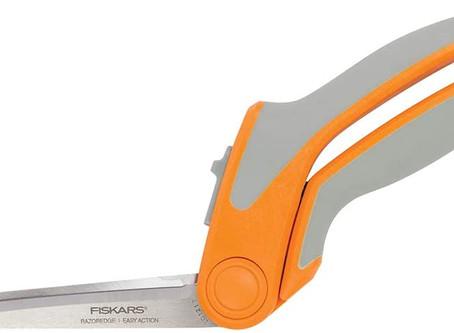 Fiskars Crafts 190950-1001 RazorEdge Easy Action Fabric Shears (No. 9), 9 Inch
