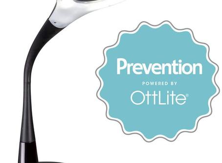 Prevention by OttLite LED Flexible Desk Lamp