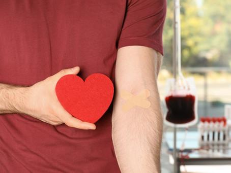 25 de Novembro - Dia Nacional do Doador de Sangue