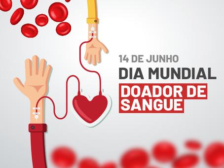 14/6 – Dia Mundial do Doador de Sangue