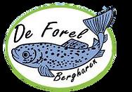 Logo forellenvijver De Forel te Berghare