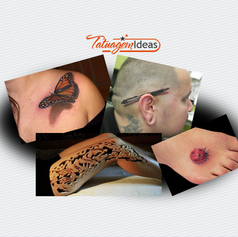 50 fantásticas tatuagens 3D