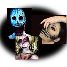 Maquiagens Estranhas