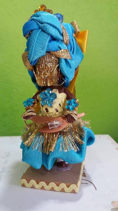 ORIXÁ OXUM azul