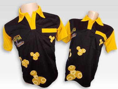 Camisa Polo Preta R$ 89,99 + Frete