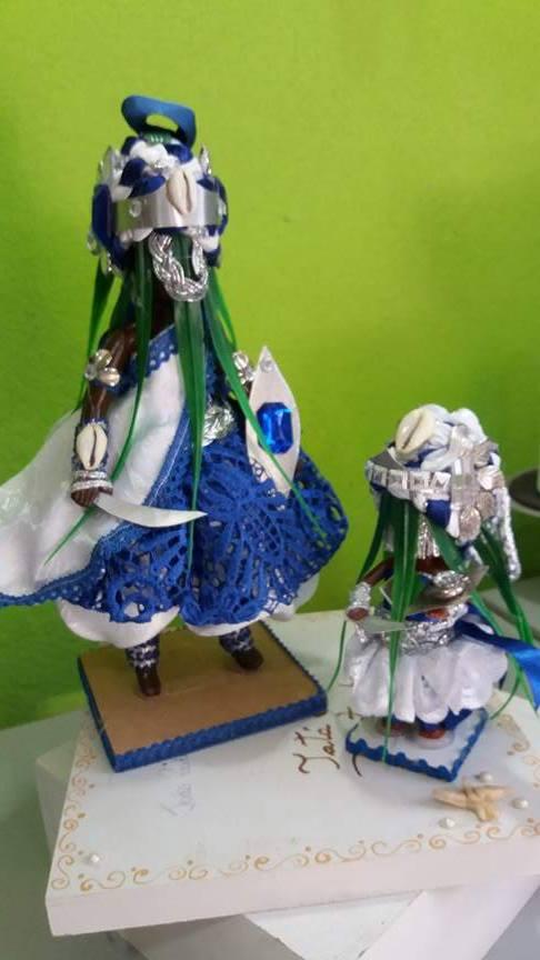 ORIXÁ OGUM Azul e branco