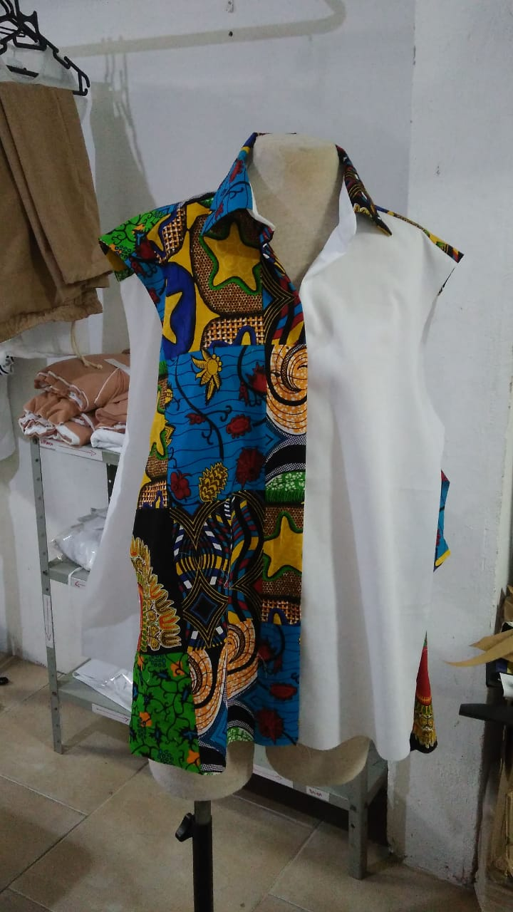 CAMISA CASUAL FEMININA AFRICANA
