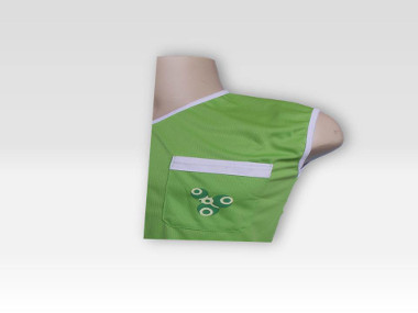 Detalhe bolso Verde