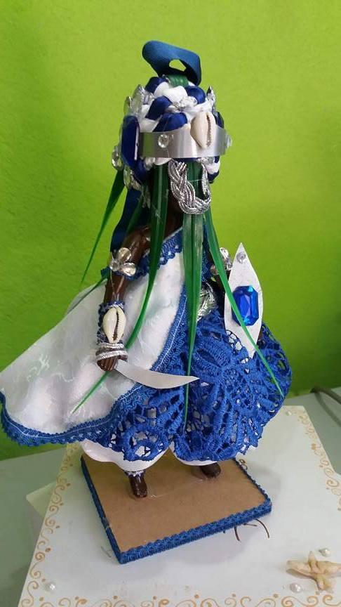 ORIXÁ OGUM azul grande