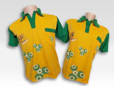 Camisa Polo Amarela R$ 89,99 + Frete