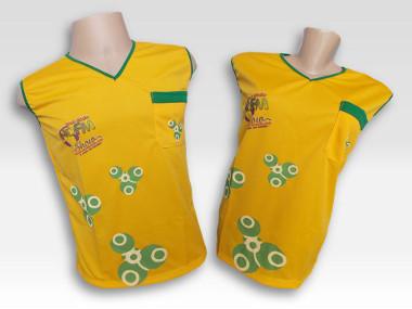 Abadá Amarelo R$ 49,99 cada + frete
