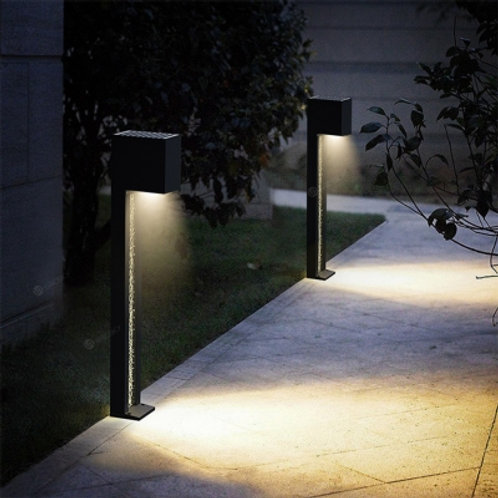 Solar Pathway Light with crystal glass