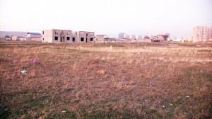 ტერიტორია ვარკეთილში, სადაც დეპუტატ ლევან ბეჟაშვილის სახელზე რეგისტრირებული მიწის ნაკვეთი მდებარეობს. 18.11.2014