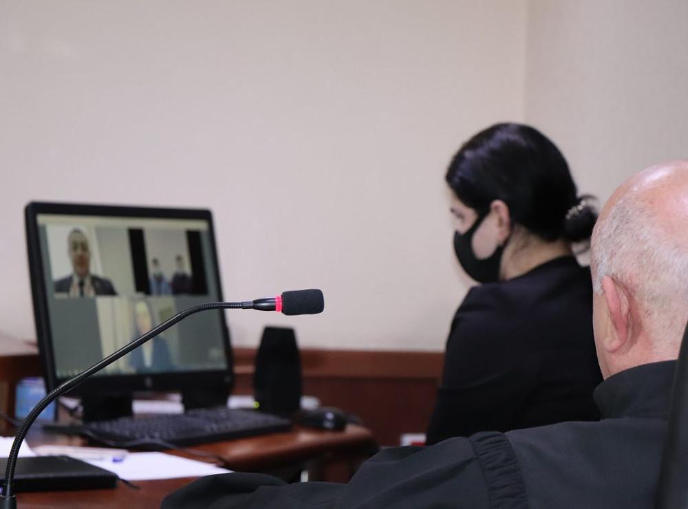 თბილისის საქალაქო სასამართლოში გამართული დისტანციური სხდომა (www.tcc.gov.ge