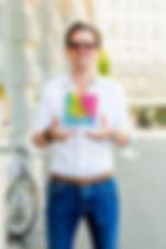 Pixel Artist Mark Bern in Zurich