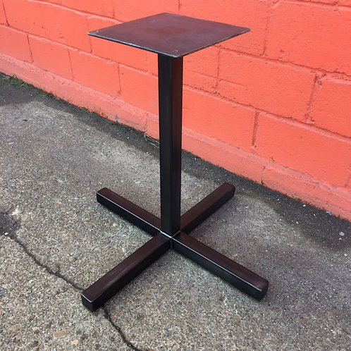 Metal Pedestal 2 Top Table Base