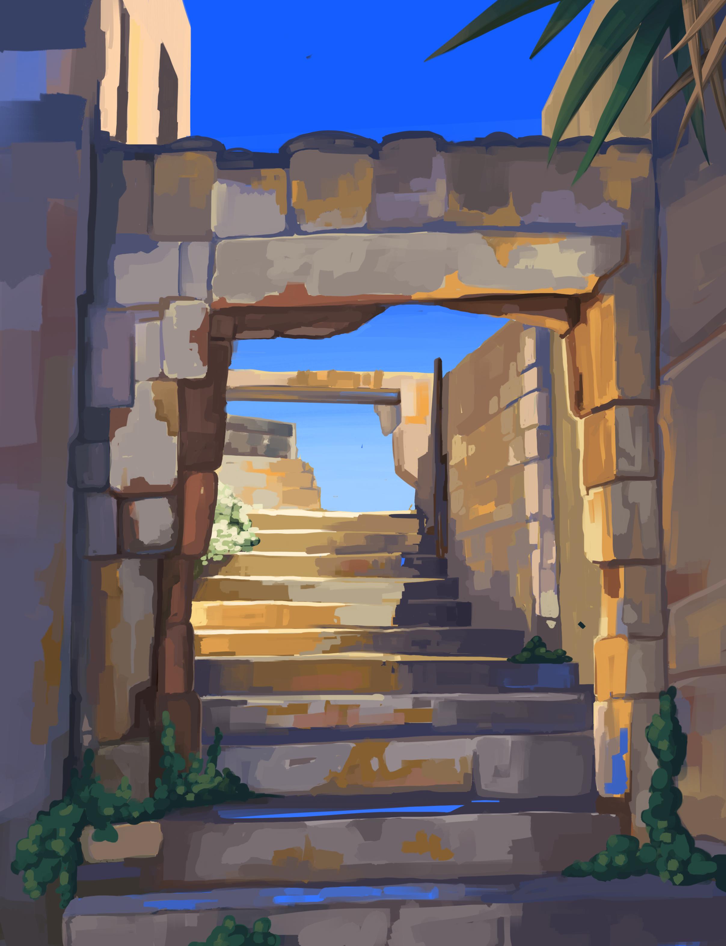 rhodes-town-steps
