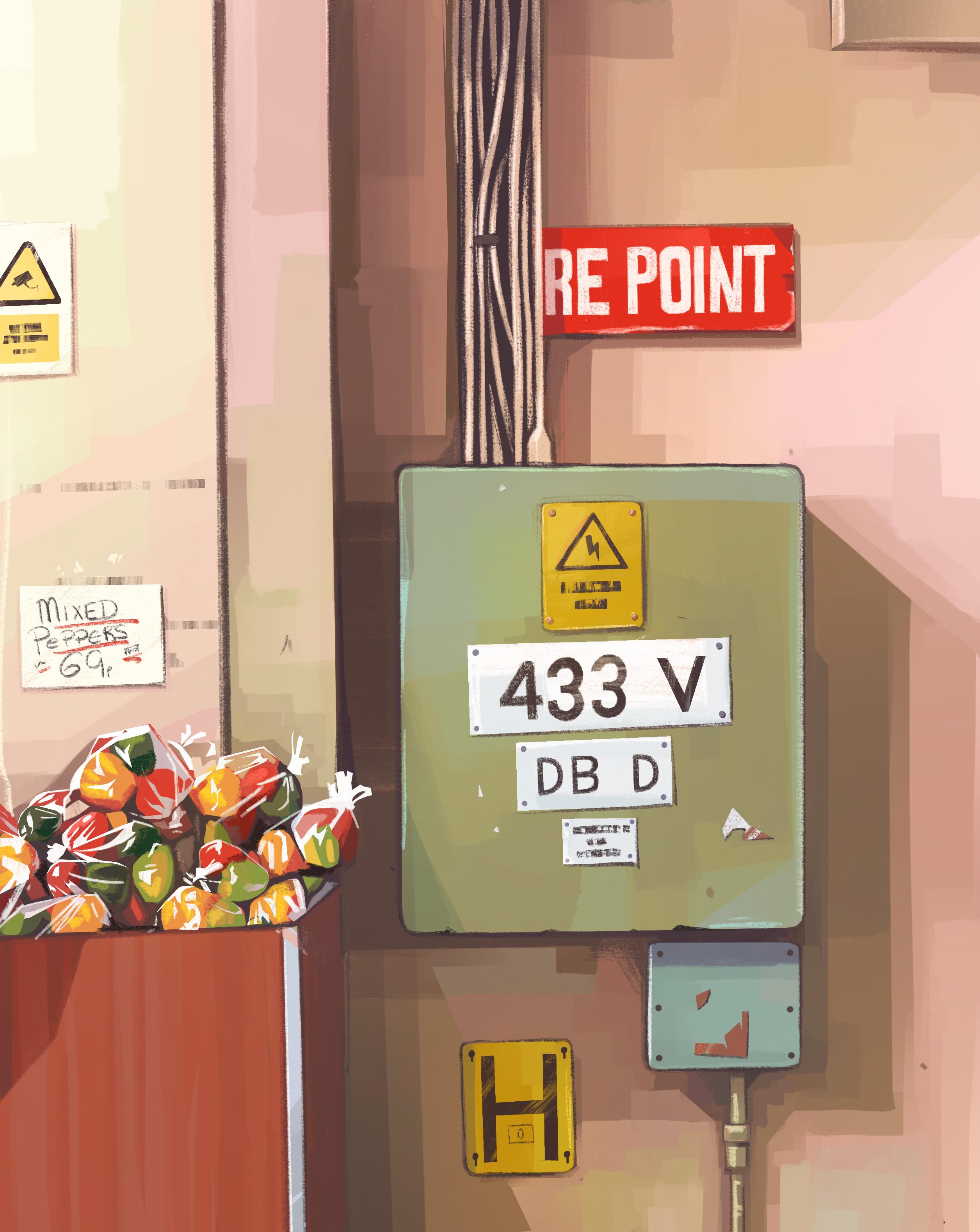 market-wall