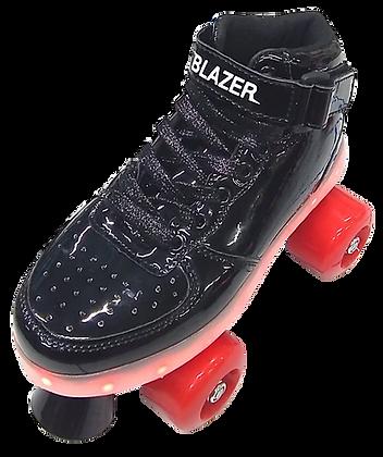 Patines Blazer Roller Negro C/Luz en plataforma BZ-17QL2
