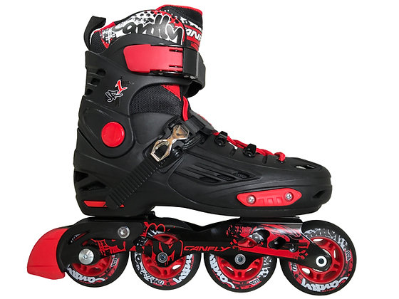 Patines Freeskate Canfly FK Ajustable Rojo