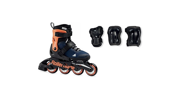Combo de Patines Fitness Microblade Cube Rollerblade