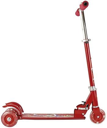 Scooter Patin del diablo de 3 ruedas POOCHIE Rojo