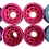 Thumbnail: Set de 8 Ruedas para patin clásico 58 mm 5 colores