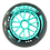 Thumbnail: 4 ruedas de 125 mm y 88A de dureza: 3 colores