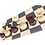 Thumbnail: Ajedrez Omcor 650 g Café/Beige