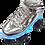 Thumbnail: Patines Blazer Roller Plata C/Luz en plataforma BZ-17QL2