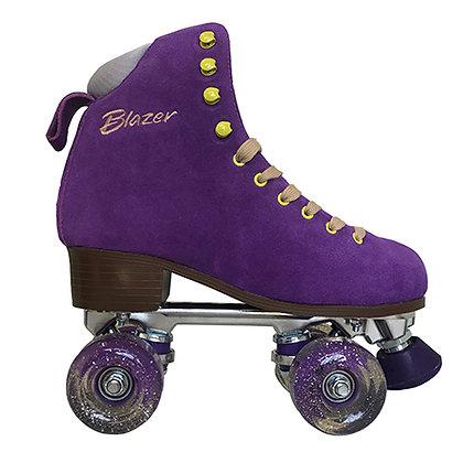 Patines Roller Blazer Gamuza Morado